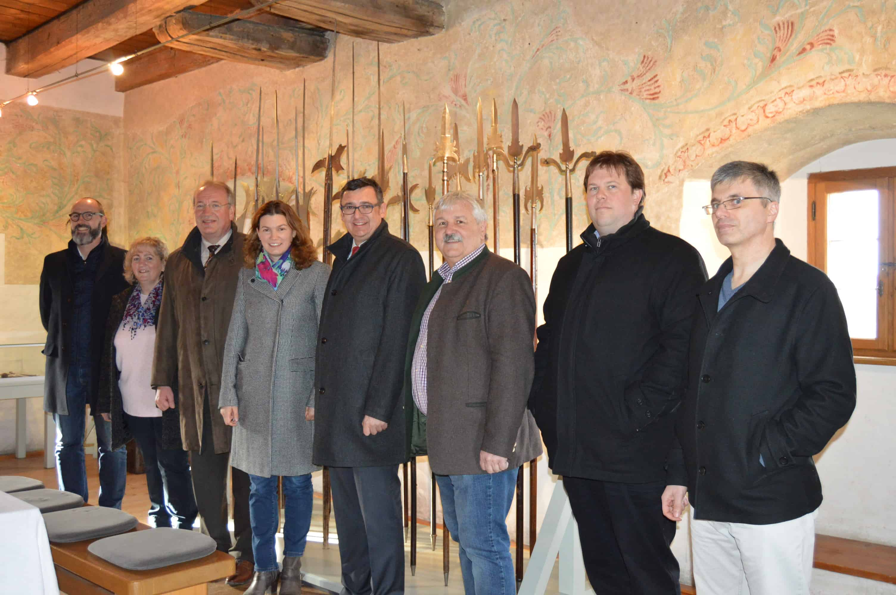Burgmuseum Wolfsegg wird neu gestaltet