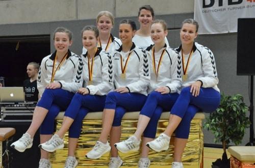 Neutraublinger Rope-Skipperinnen erneut Deutscher Mannschaftsmeister