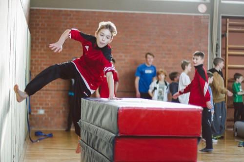 Parkour: Sportlich-aktive Osterferien