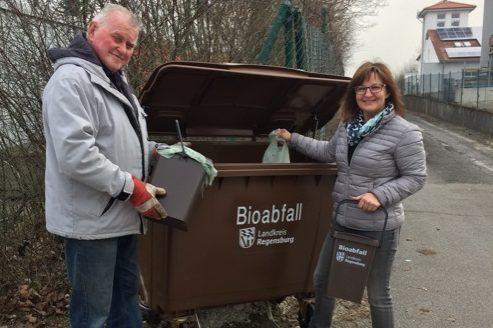 Landkreis Regensburg testet getrennte Bioabfallsammlung