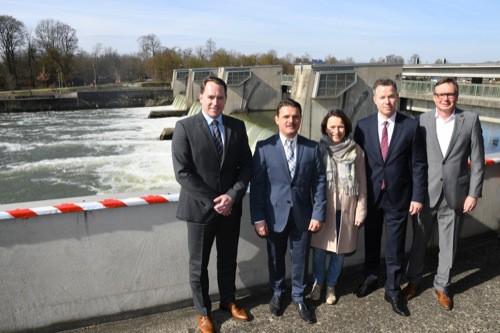 REWAG: Grüner Strom aus der Donau