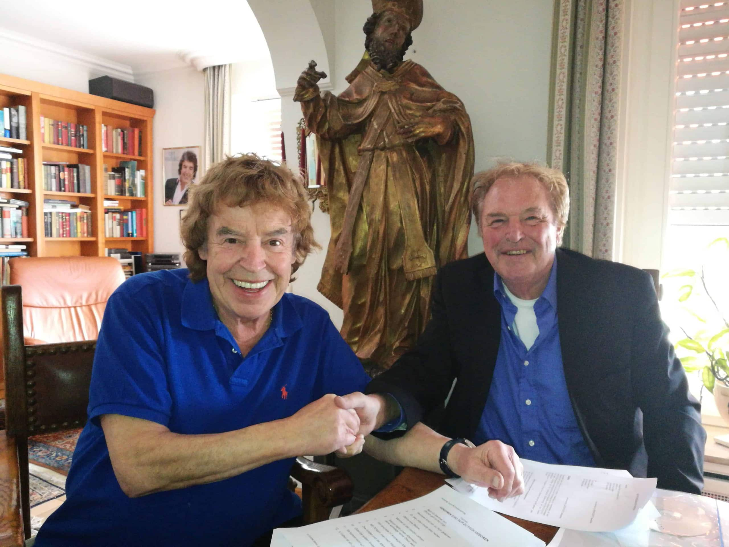 Günther Behrle nimmt Tony Marshall unter Vertrag