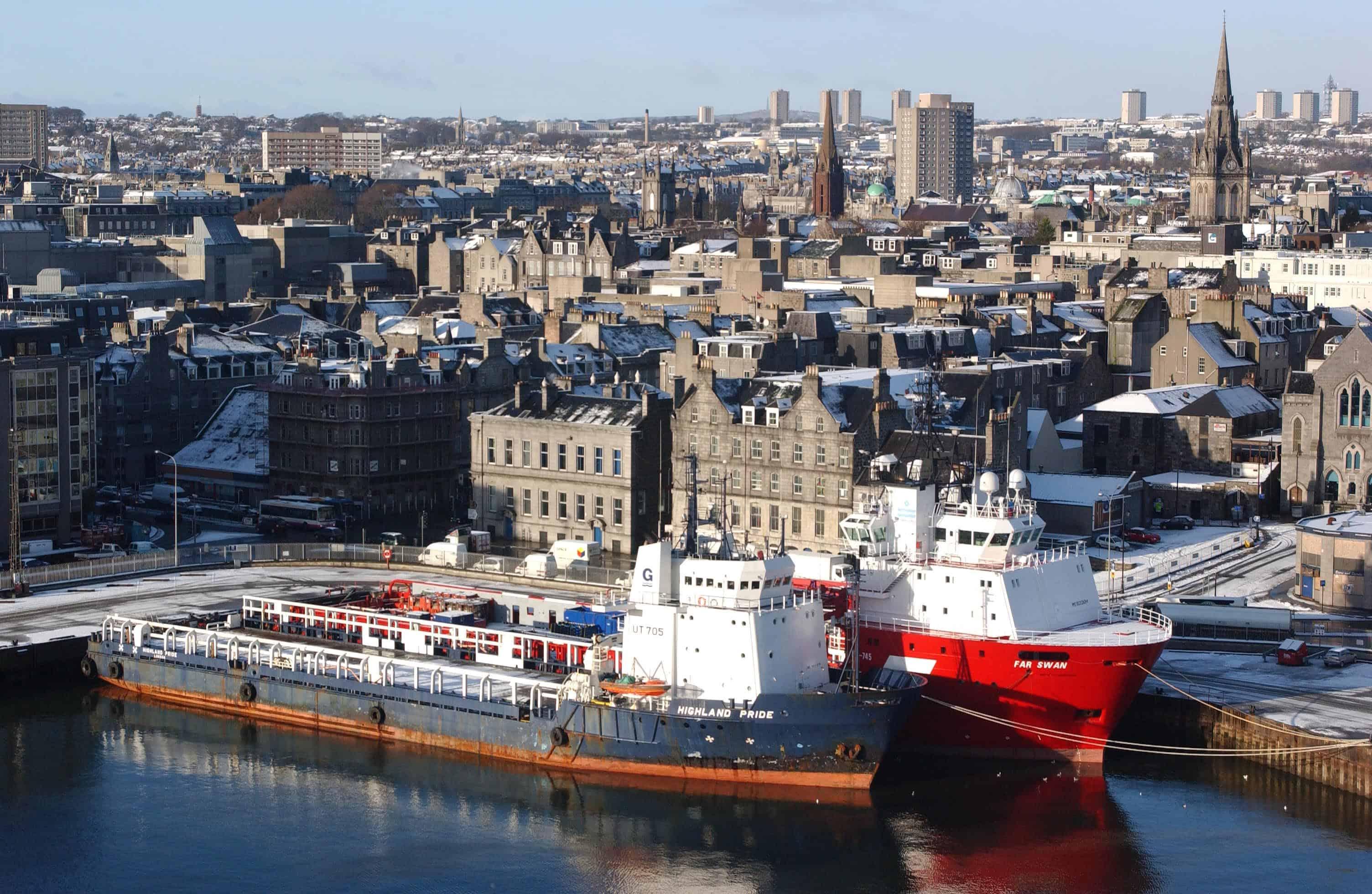Blizz stellt Regensburgs Partnerstädte vor: Heute Aberdeen