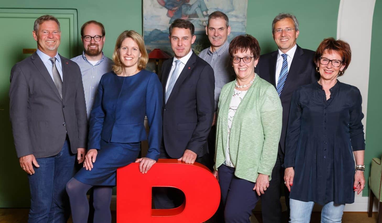 Stabübergabe der Regensburger CSU