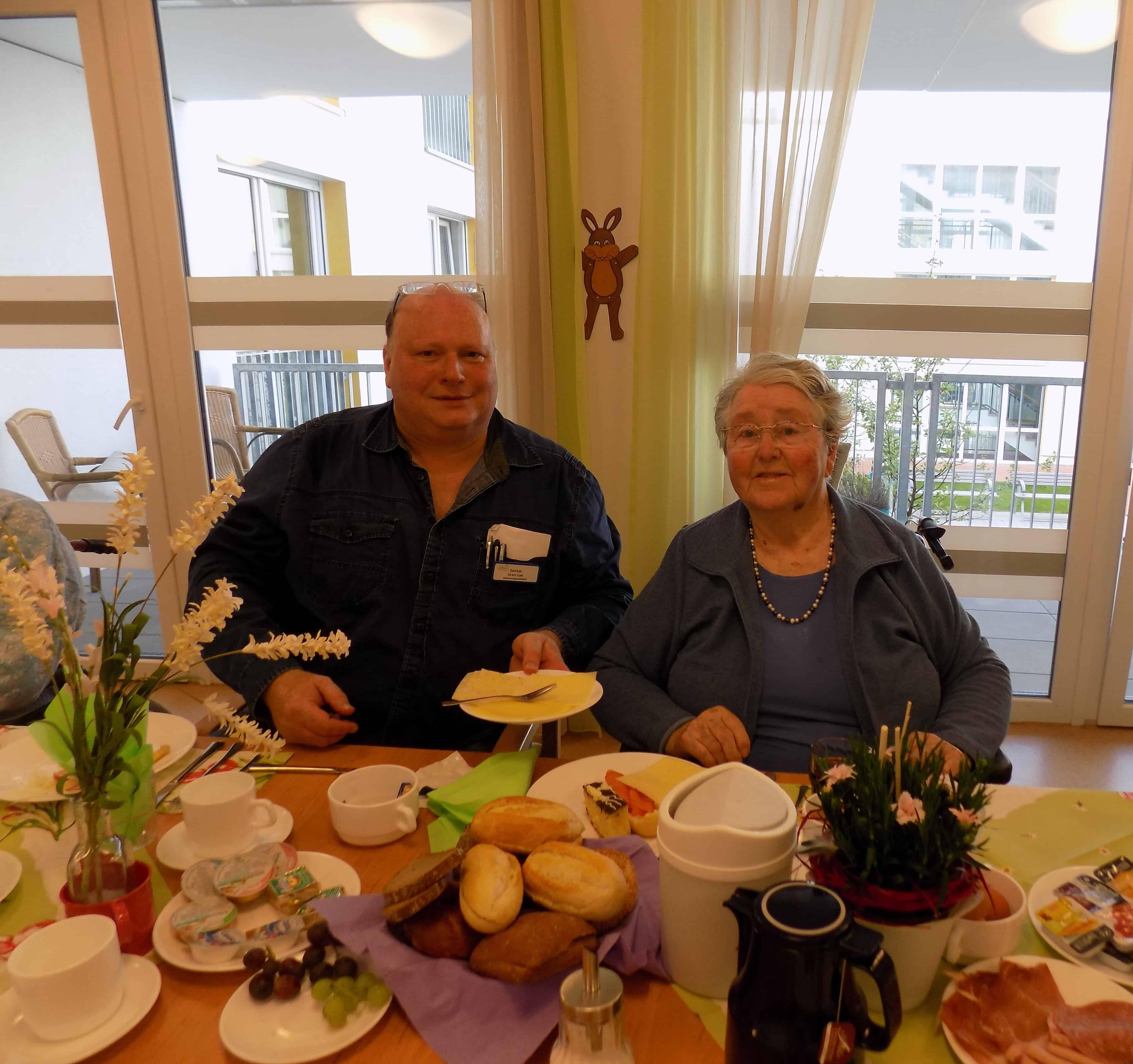 Vorgezogene Ostern im Seniorenwohnzentrum Candis