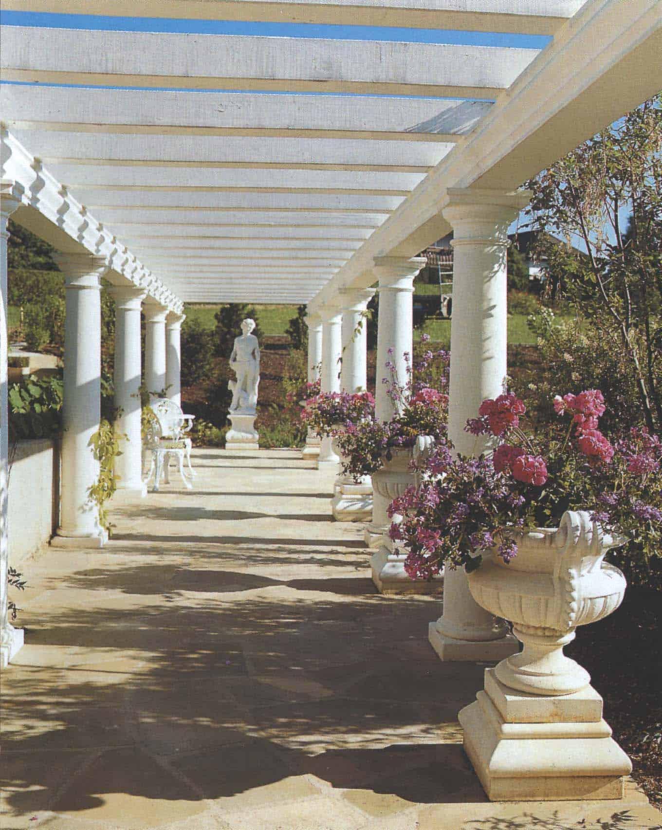 Garten mit der Firma Kimmel mediterran gestalten