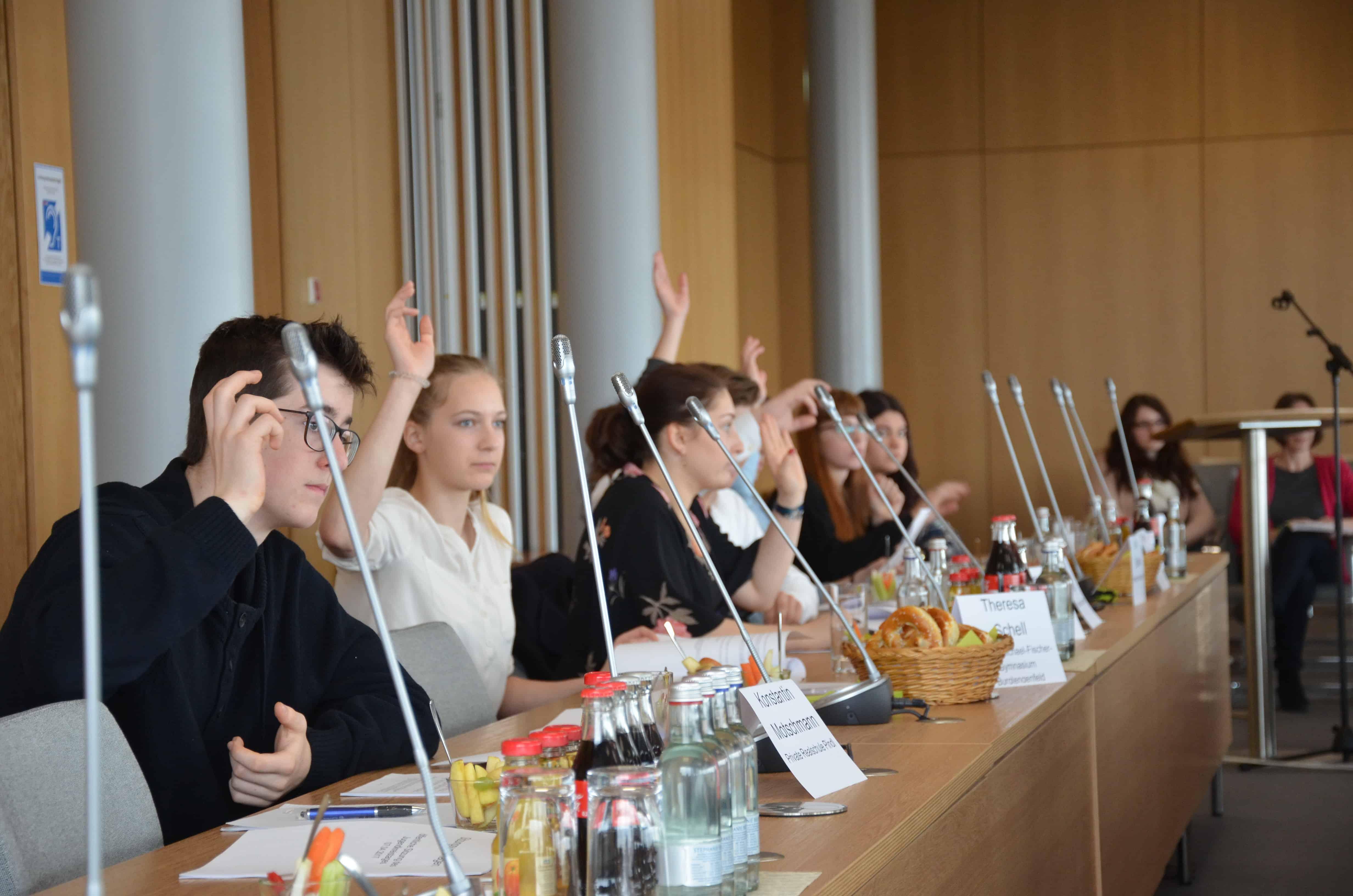 Zweite Sitzung des Jugendkreistages des Landkreises Regensburg