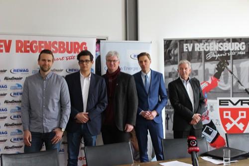 Die EVR Eishockey GmbH stellt sich neu auf