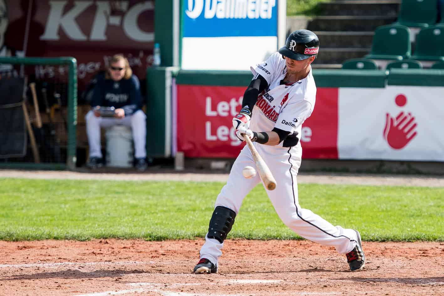 Baseball: Buchbinder Legionäre mit richtungsweisenden Spielen gegen Stuttgart Reds