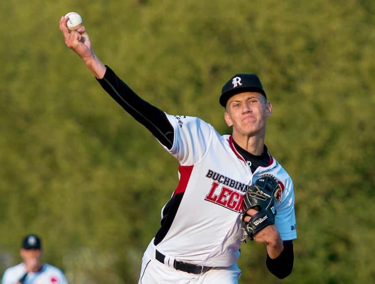 Baseball: Regensburg mit zwei Niederlagen beim Meister in Mainz