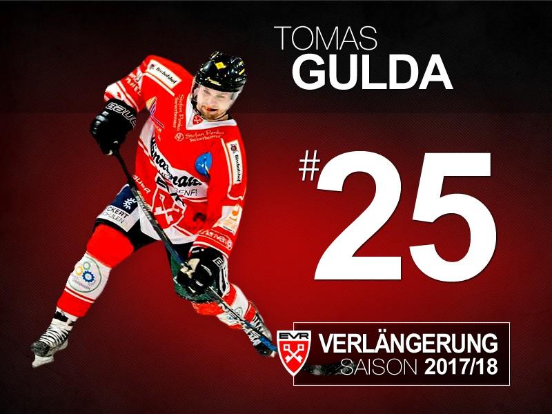 Tomas Gulda hält dem EV Regensburg die Treue