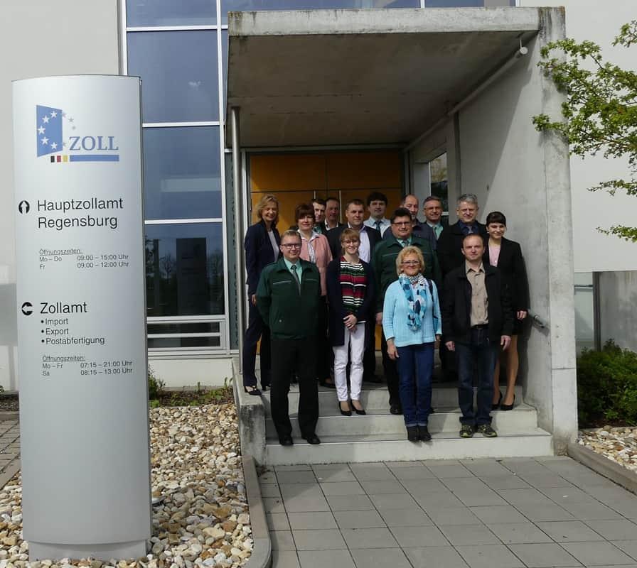Zoll: Deutsch-Tschechische Zusammenarbeit