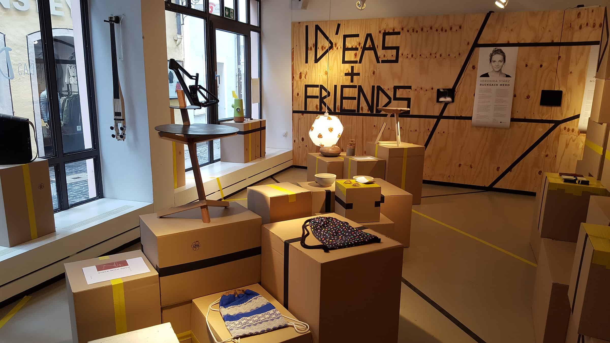 Studierende des Bachelors Industriedesign an der OTH starten Design Store