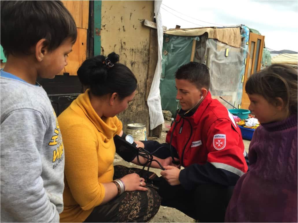 Malteser helfen abgewiesenen Asylsuchenden in Albanien bei der Wiedereingliederung