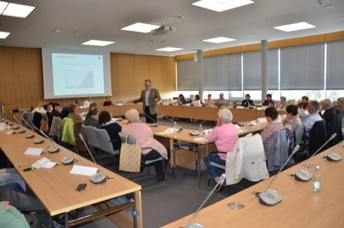 Infoveranstaltung im Gesundheitsamt Regensburg