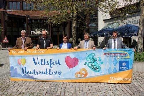 Stadt Neutraubling lädt zum Sommer-Volksfest