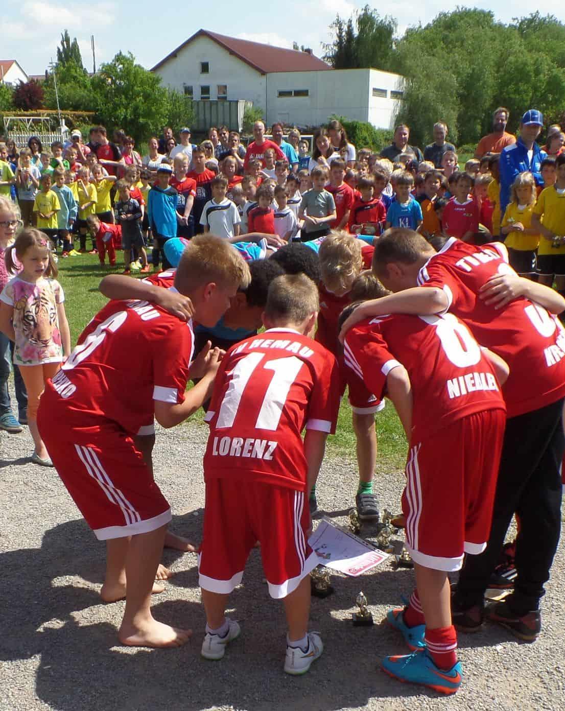 Fußballturnier am Vatertag beim SV Sallern
