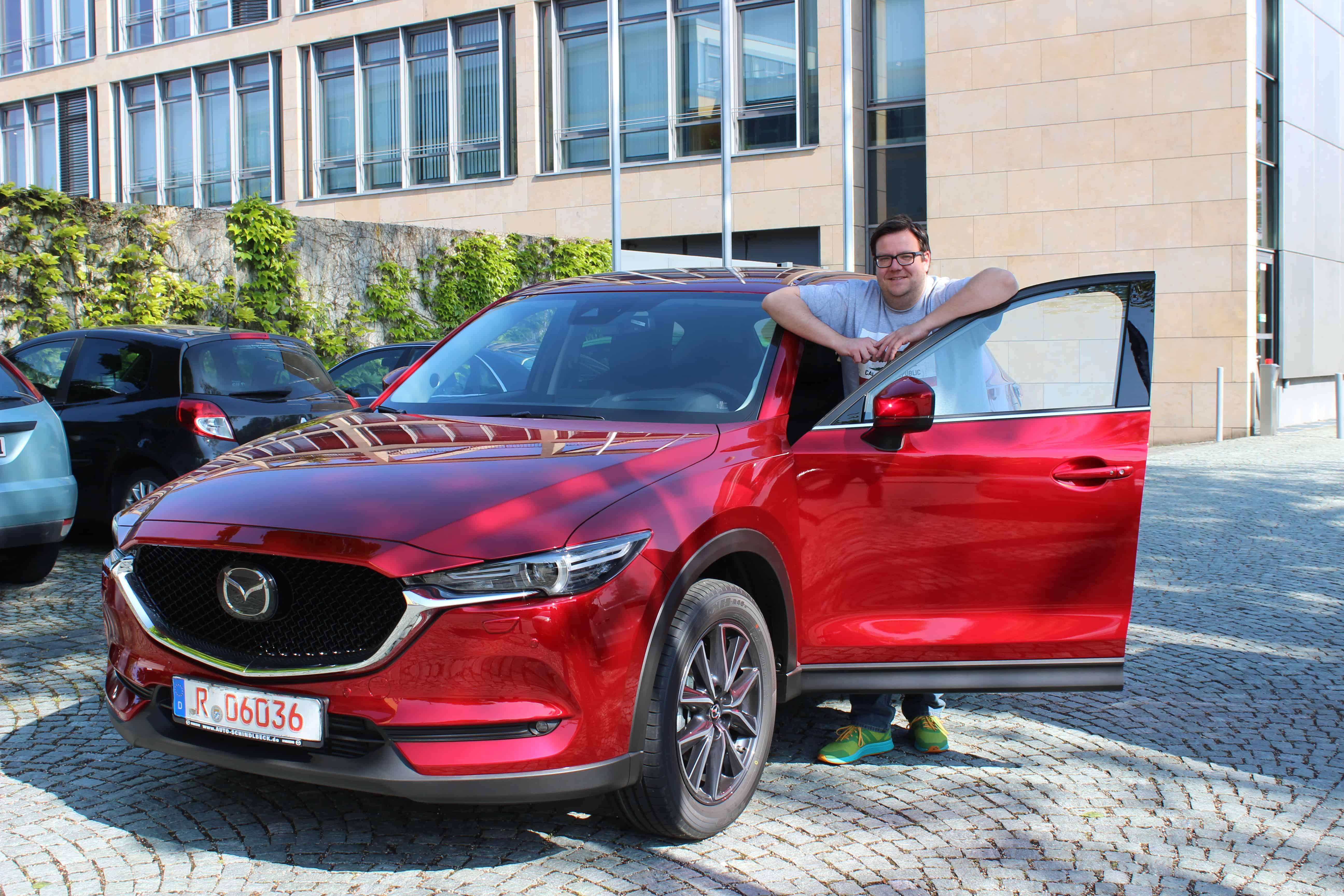 Ab sofort bei Auto Schindlbeck: Der neue Mazda CX-5 im neuen Look