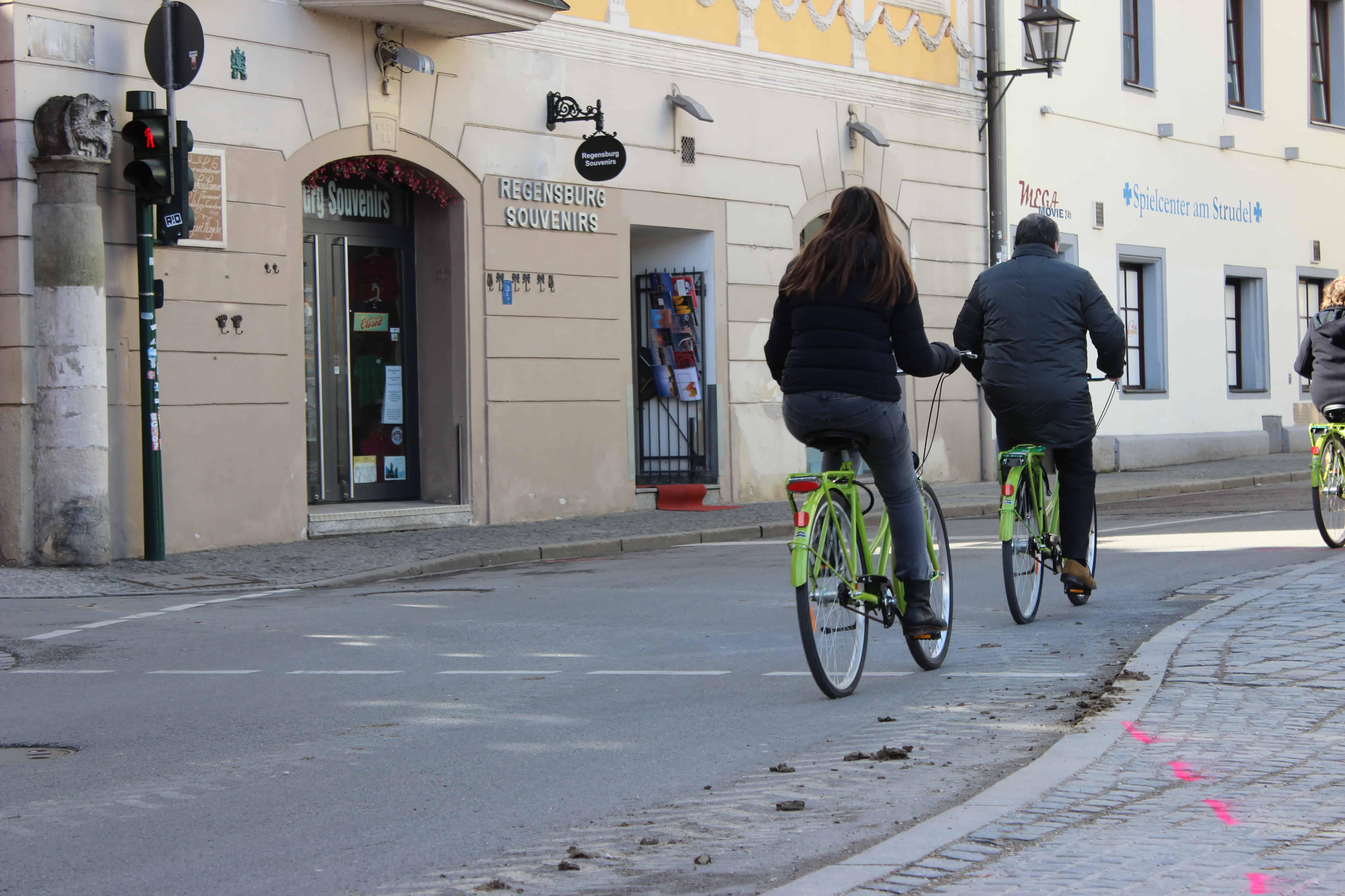 Ist die Stadt Regensburg fahrradfreundlich?