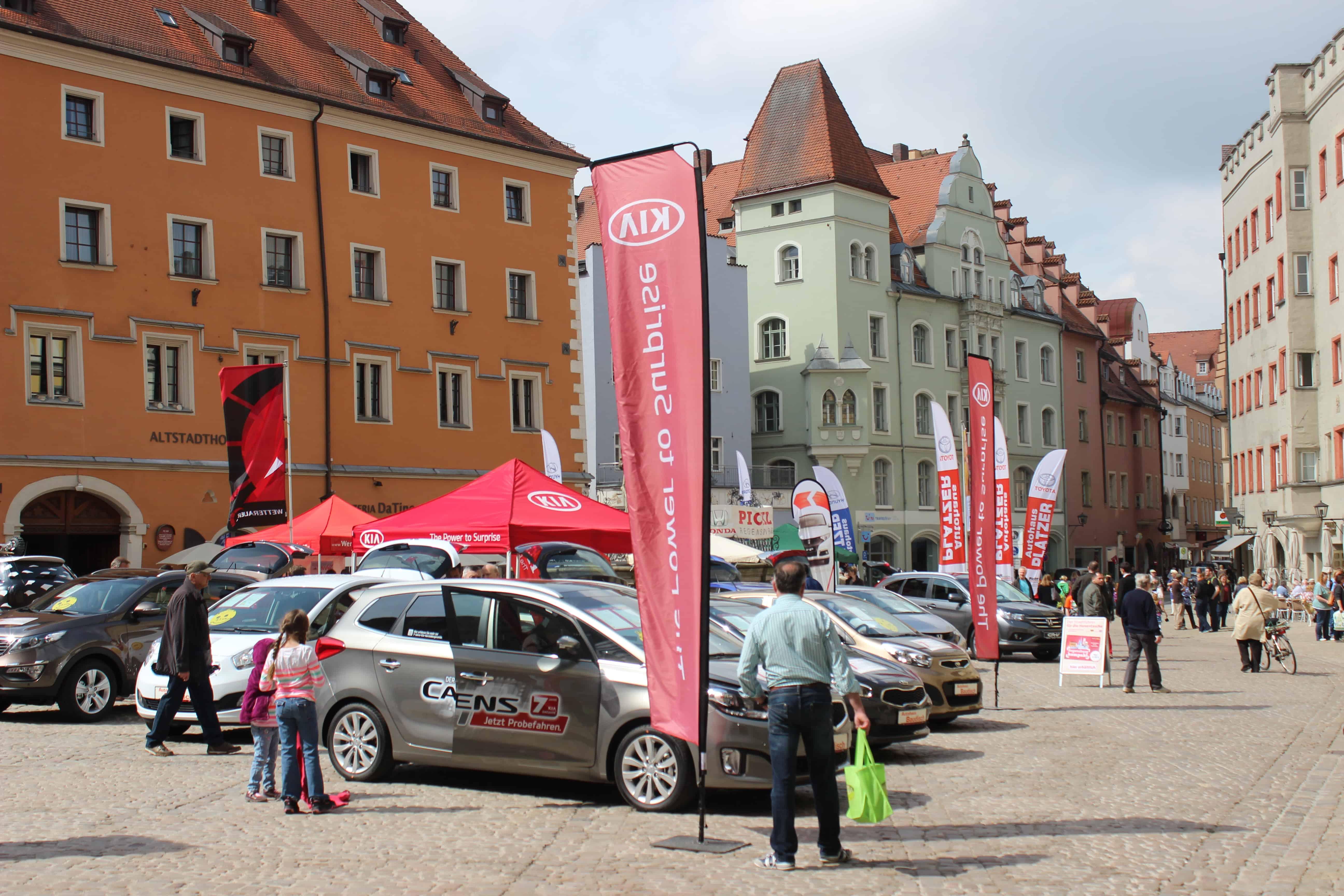 Regensburgs größter Automobilsalon im Mai