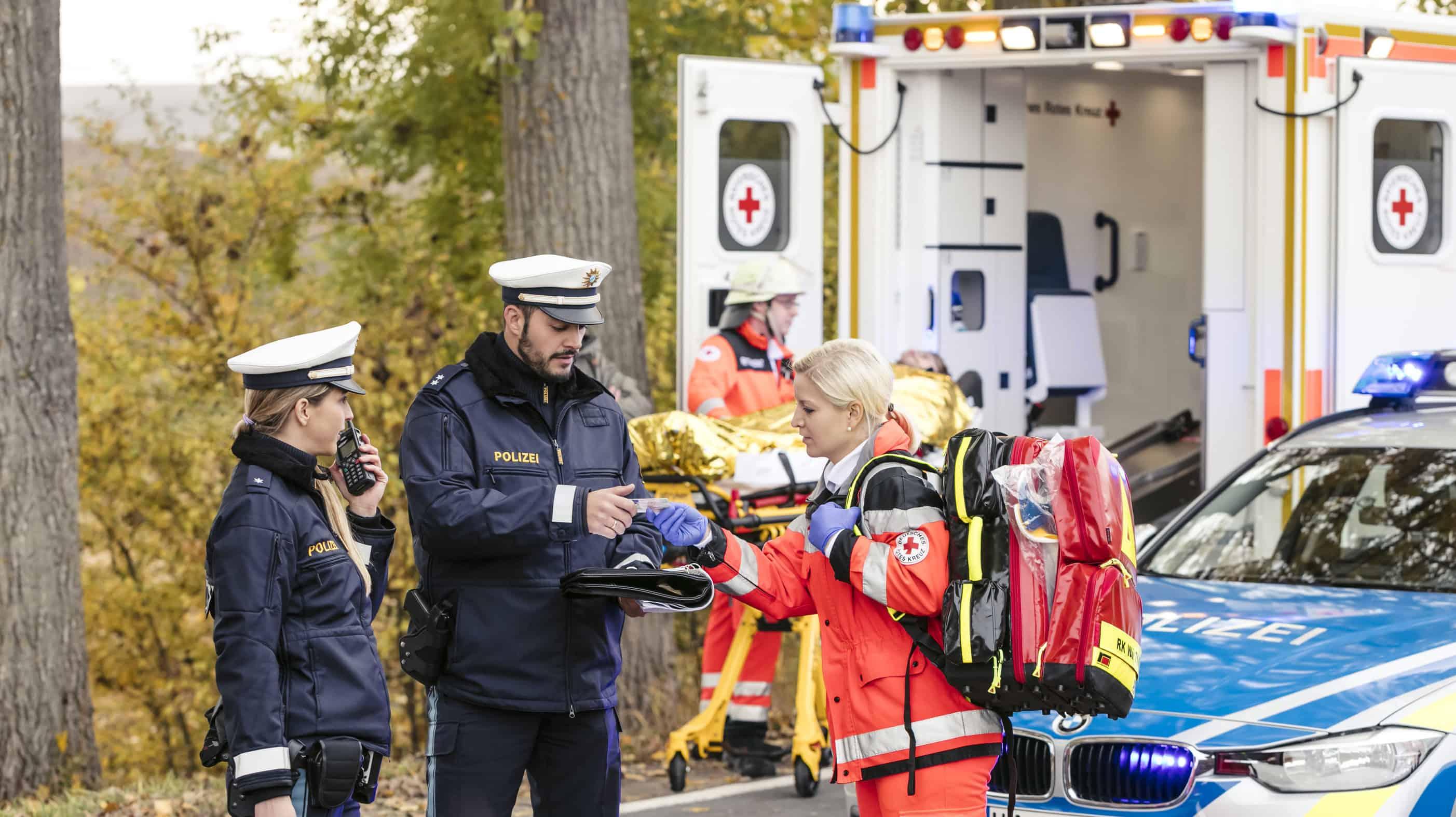Tritte und Schläge gegen Polizei, Feuerwehr und Rerttungsdienst leider Normalität