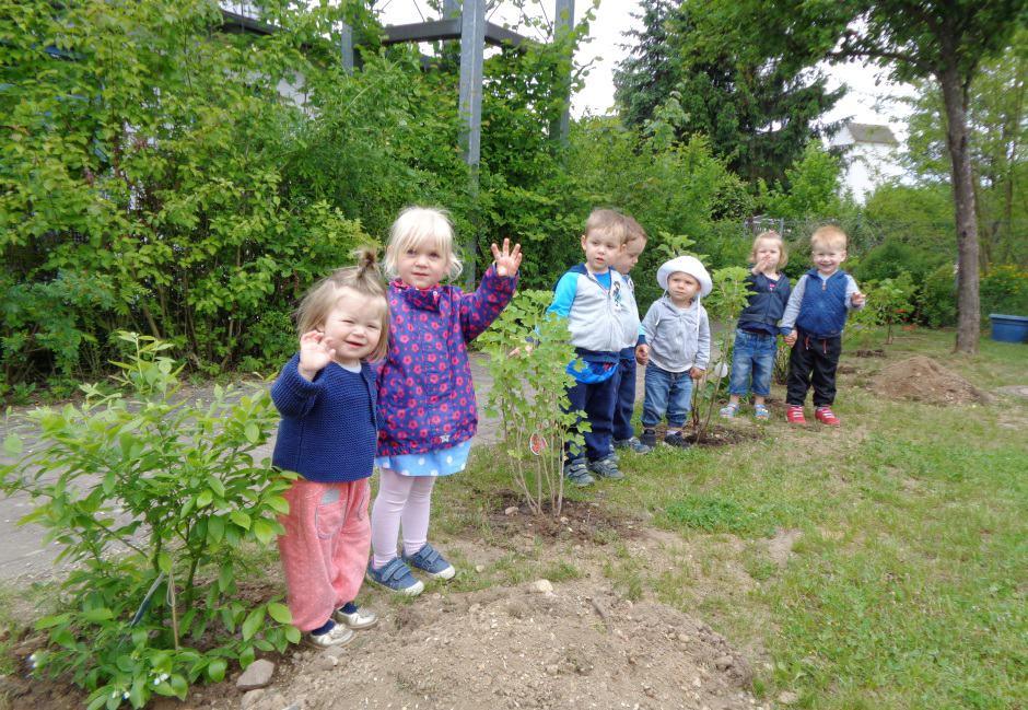 Gartenspaß bei Johannitern