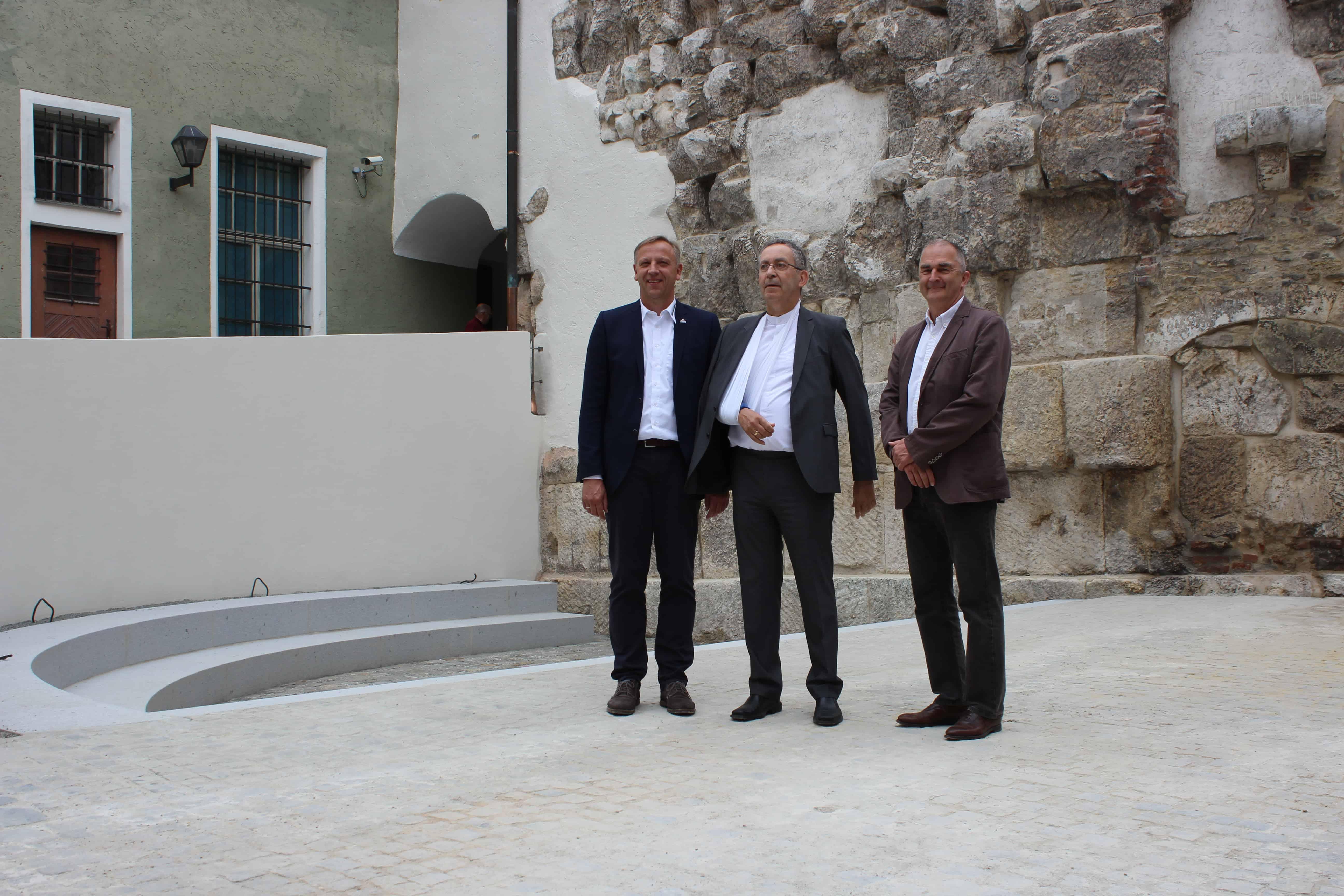 Sanierung der Porta Praetoria abgeschlossen