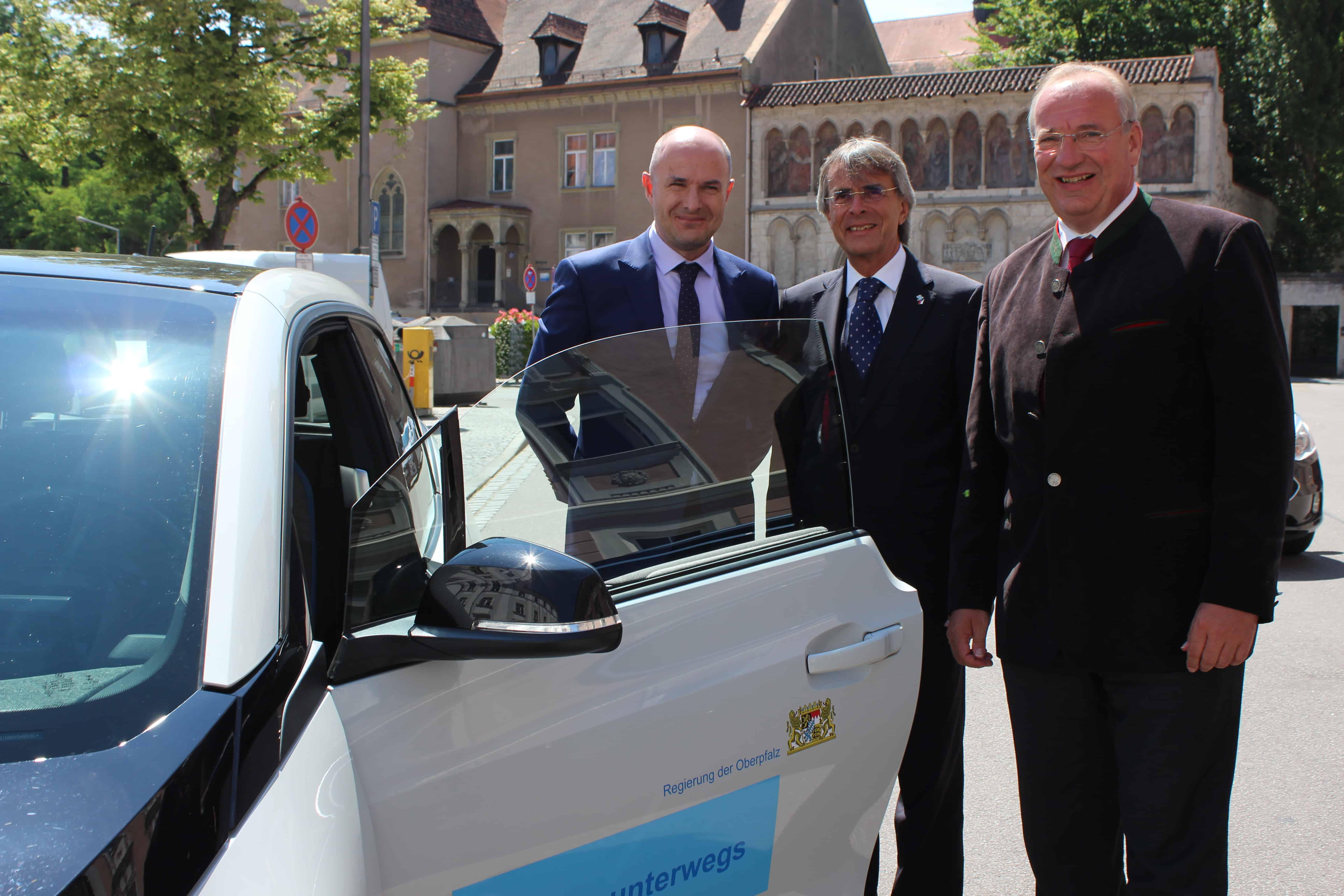 Präsident der Region Pilsen auf Antrittsbesuch in der Regierung der Oberpfalz