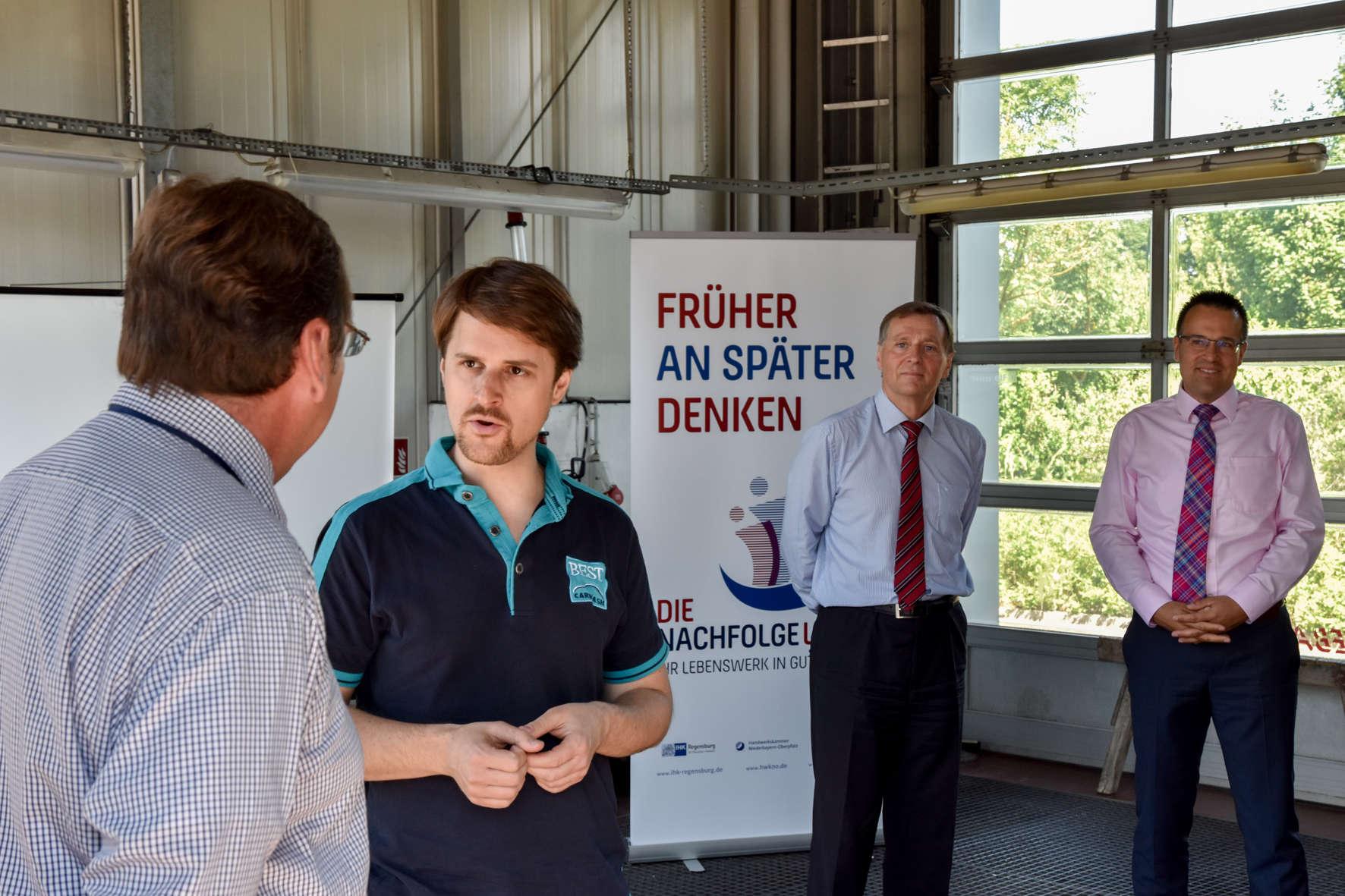 IHK Regensburg: Das Lebenswerk managen
