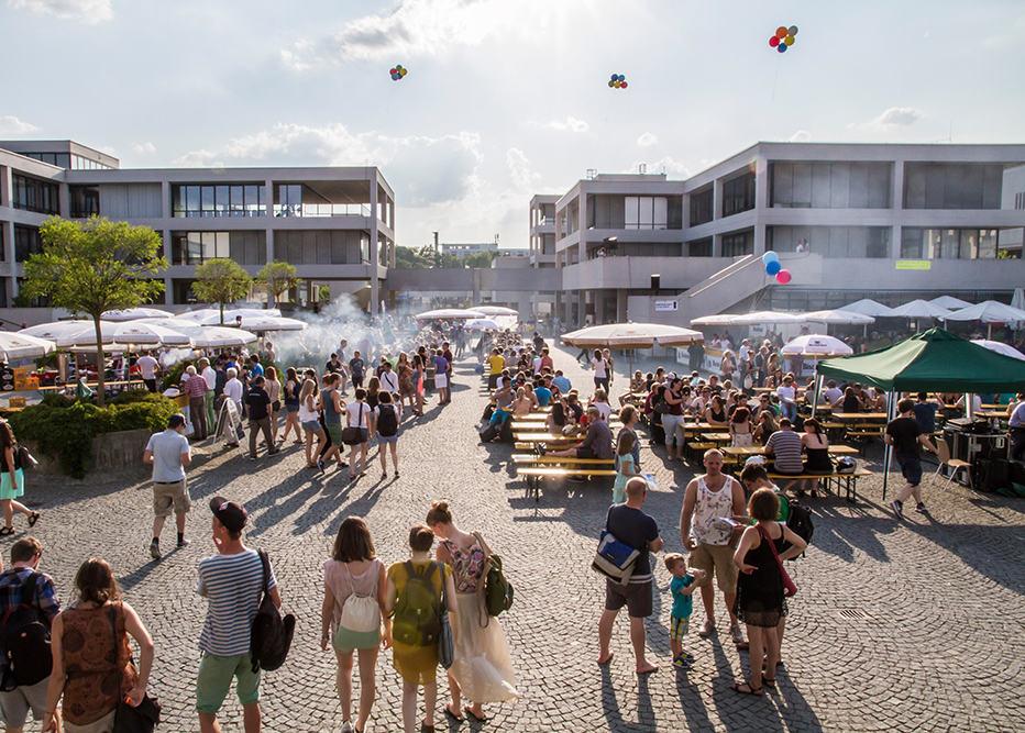 Am Donnerstag: Sommerfest auf dem Campus der Universität