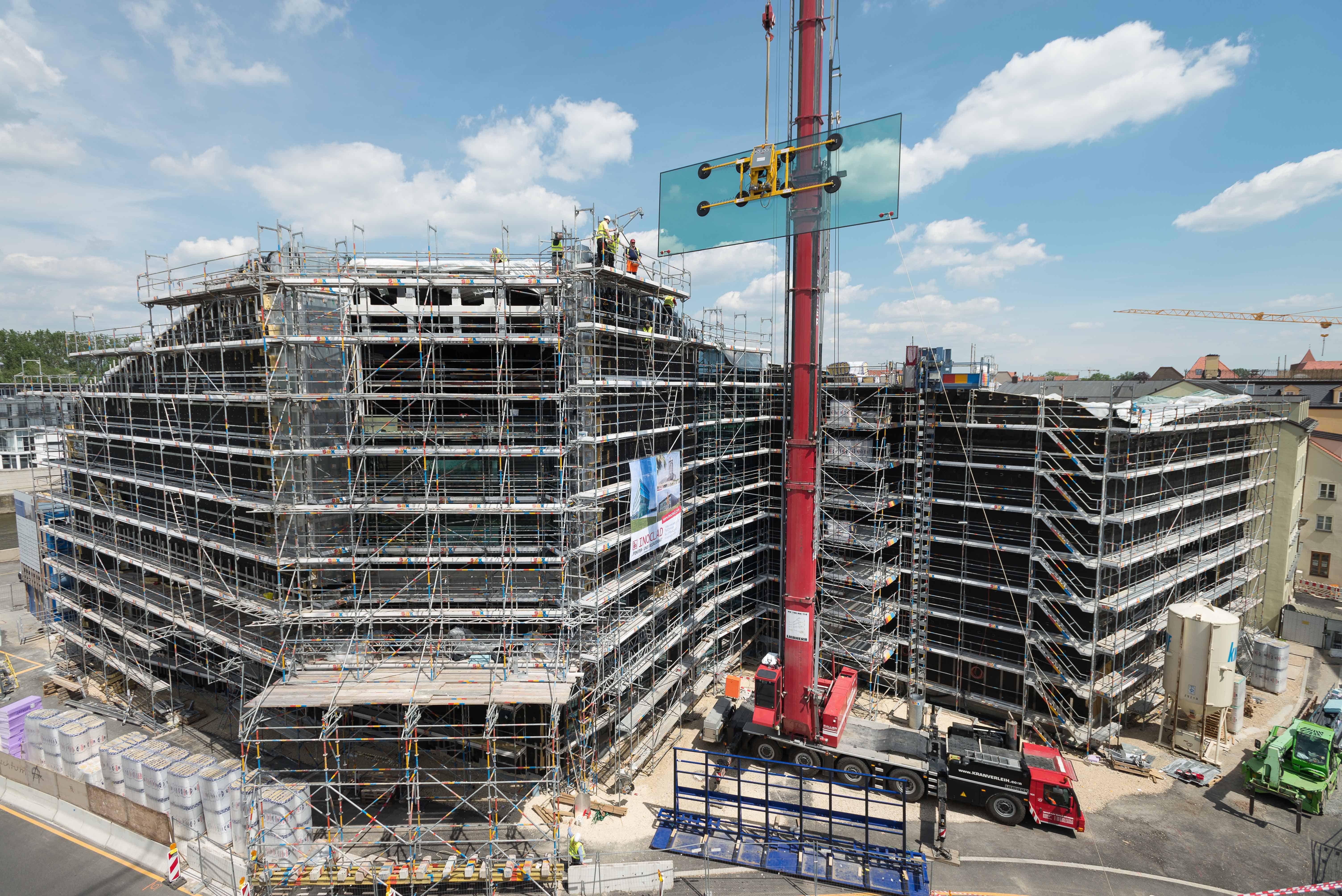 Regensburg: Neubau des Museums der Bayerischen Geschichte schreitet voran