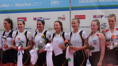 Drei Medaillen für Regensburger Ruderer