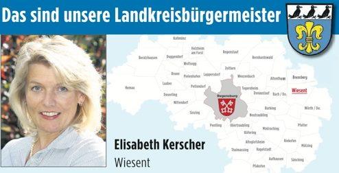 Unsere Landkreisbürgermeister: Elisabeth Kerscher aus Wiesent