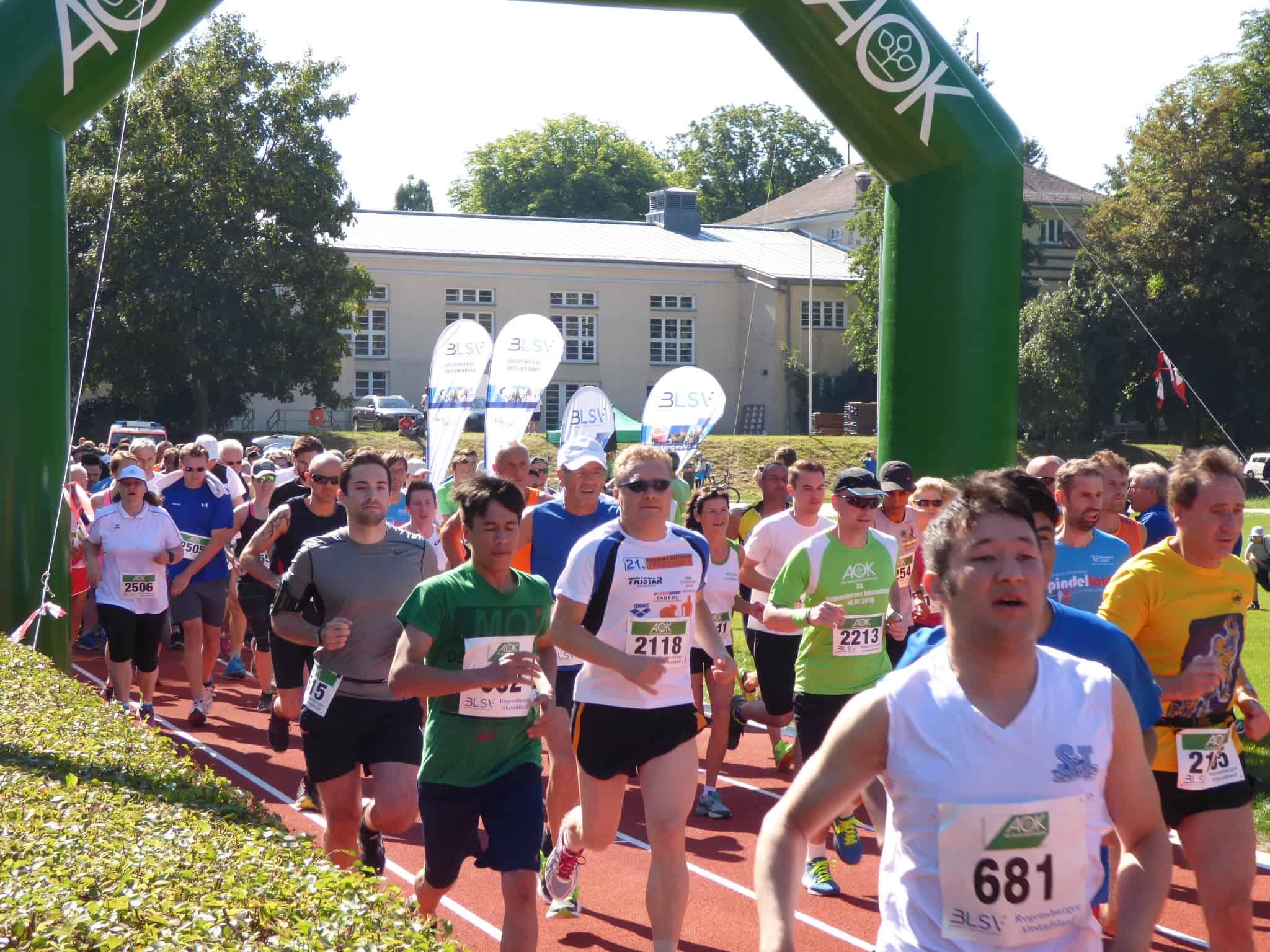 34. Regensburger Altstadtlauf am 9. Juli