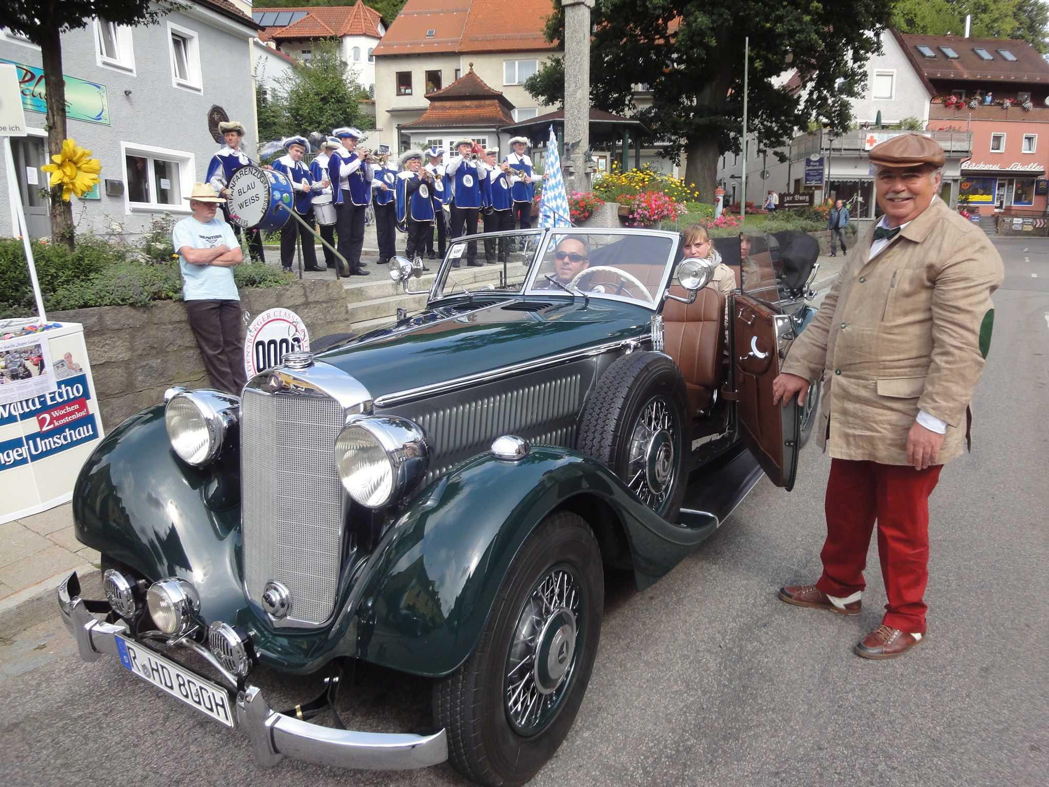 Die Mille Miglia in der Oberpfalz