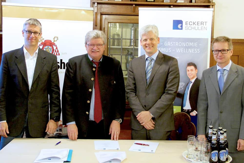 Hotelfachschule Regenstauf kooperiert mit der Brauerei Bischofshof