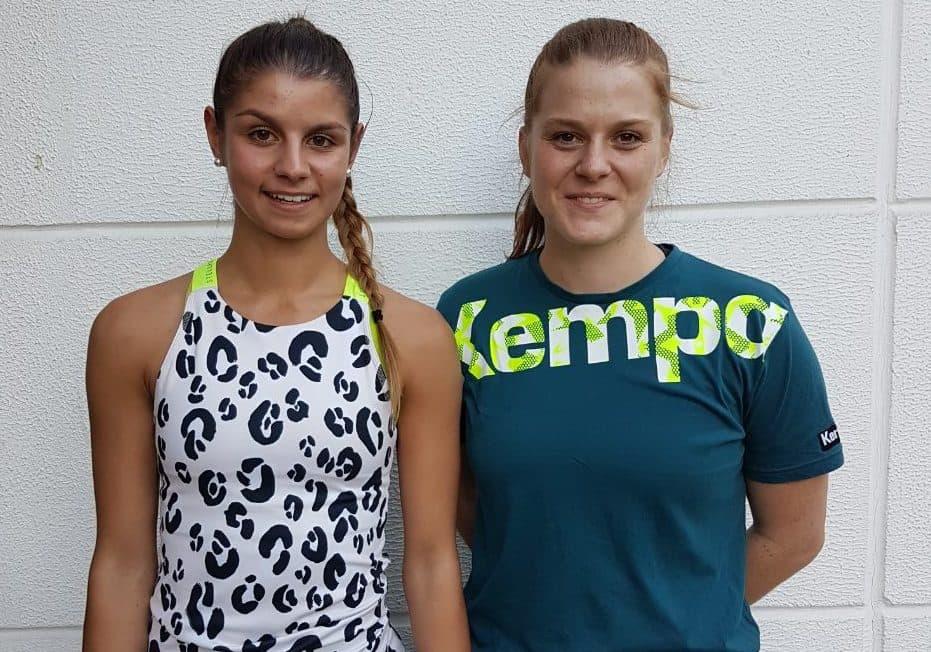 Franziska Ruzicka und Laura Brockschmidt verstärken ESV-Handballerinnen