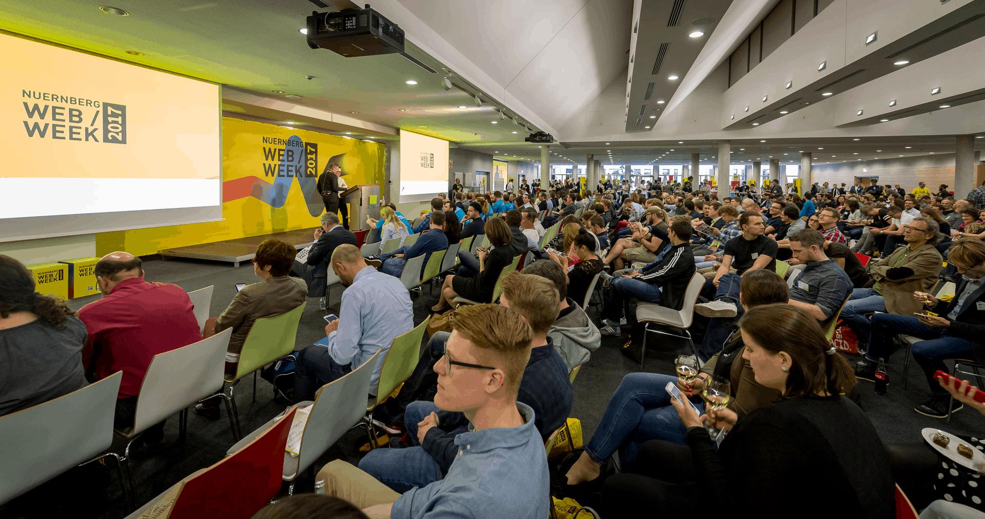 Die Nürnberg Web Week 2017: Größer und vielfältiger als je zuvor