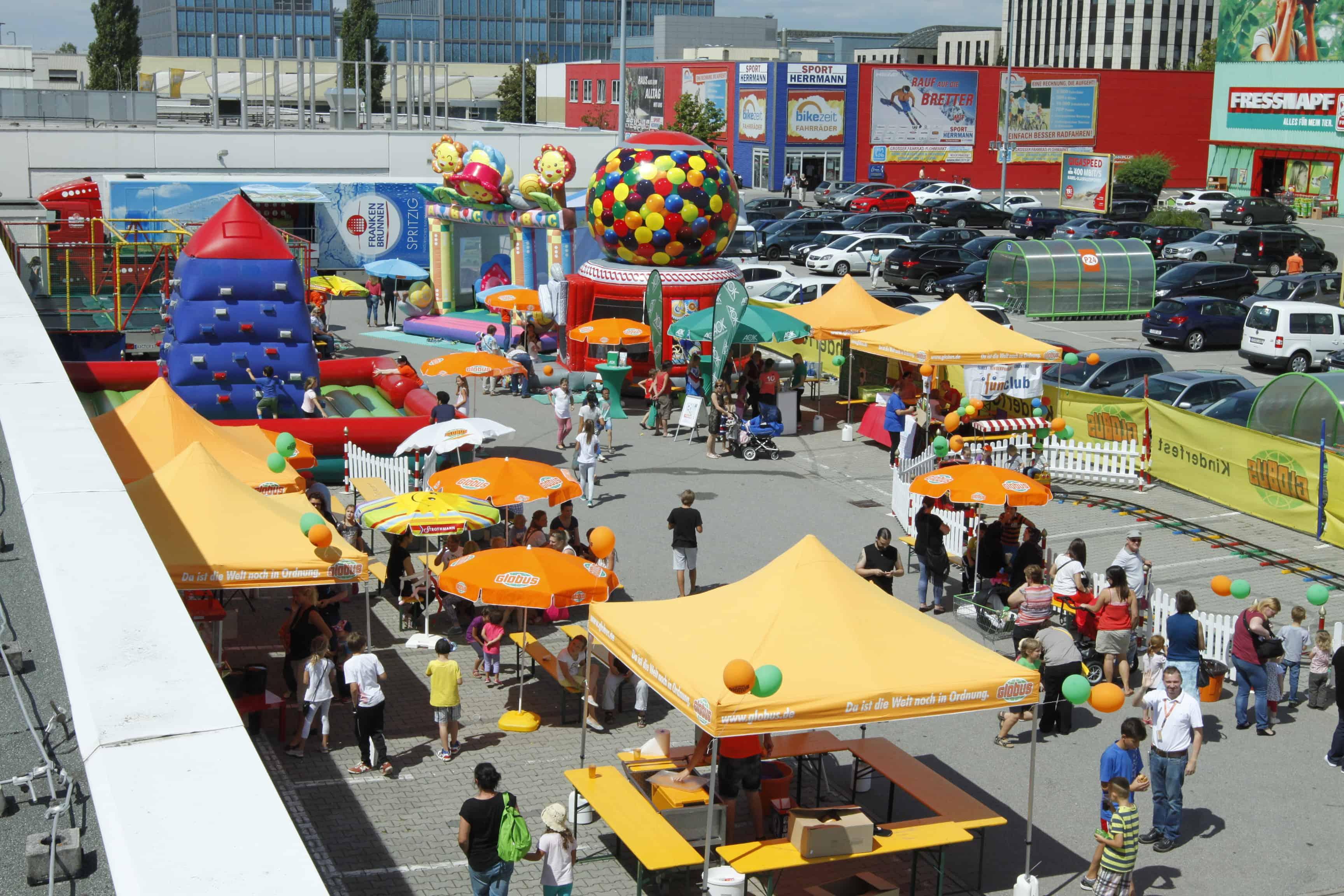 Am 1. und 2. August Kinderfest bei Globus in Neutraubling