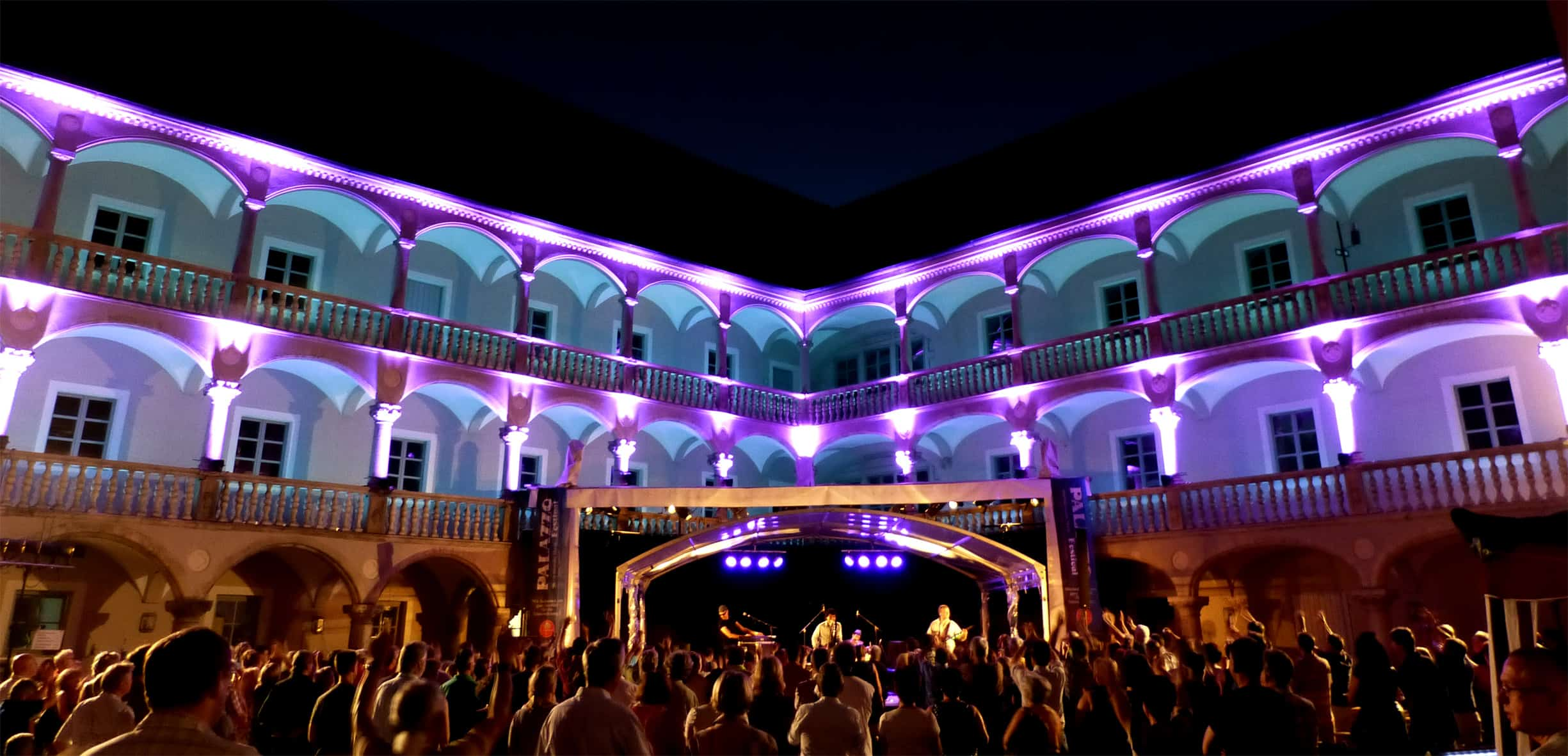 Ab 1. August: 20 Jahre Palazzo-Festival in Regensburg