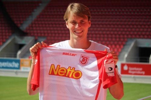 SSV Jahn Regensburg leiht Asger Strømgaard Sørensen von RB Salzburg aus
