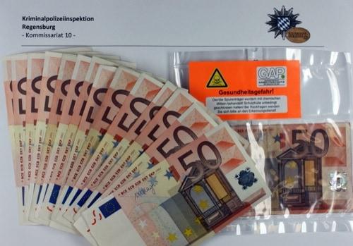 Kripo Regensburg deckt Fall von Falschgeldkriminalität auf