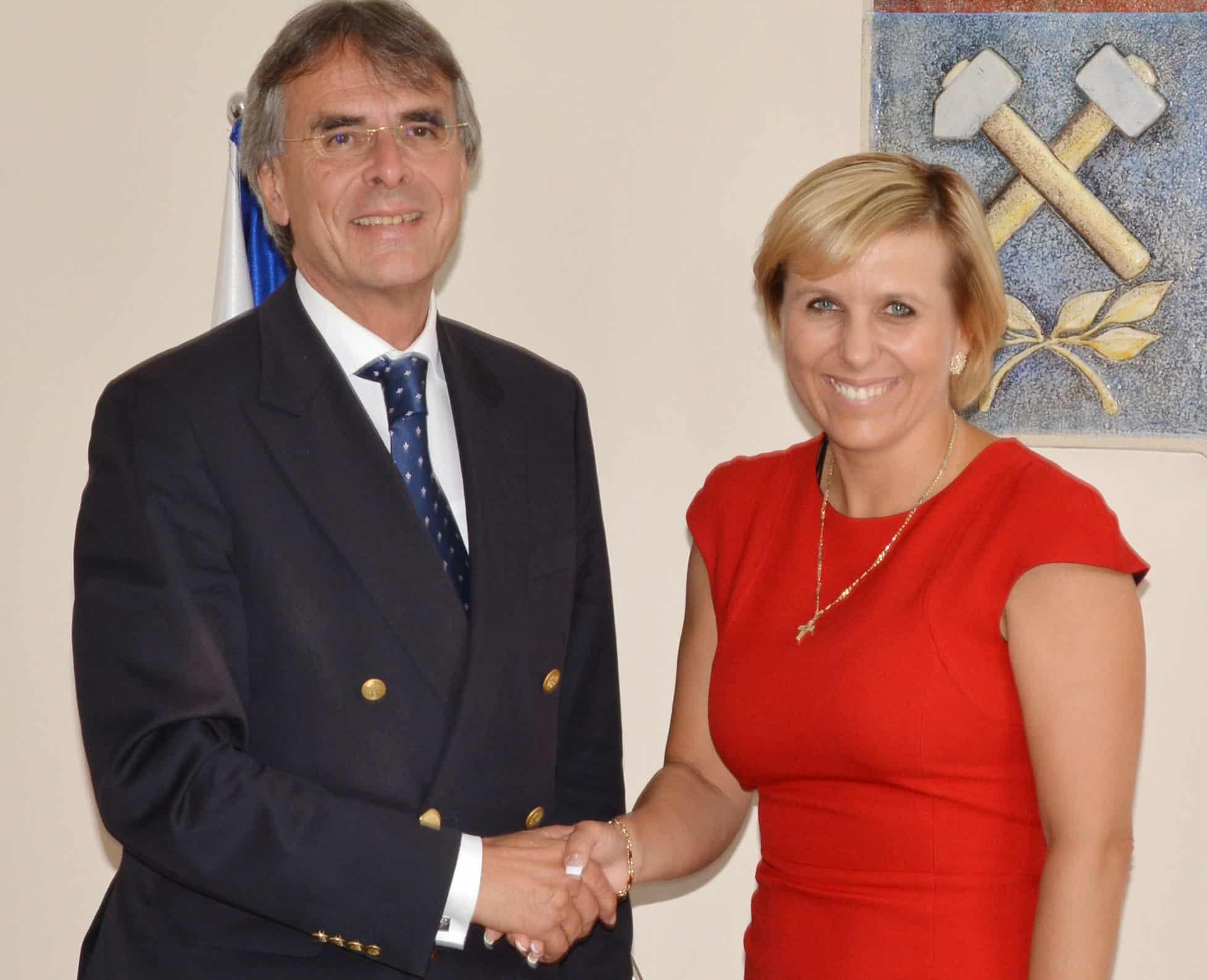 Regierungspräsident Bartelt besucht Karlsbad