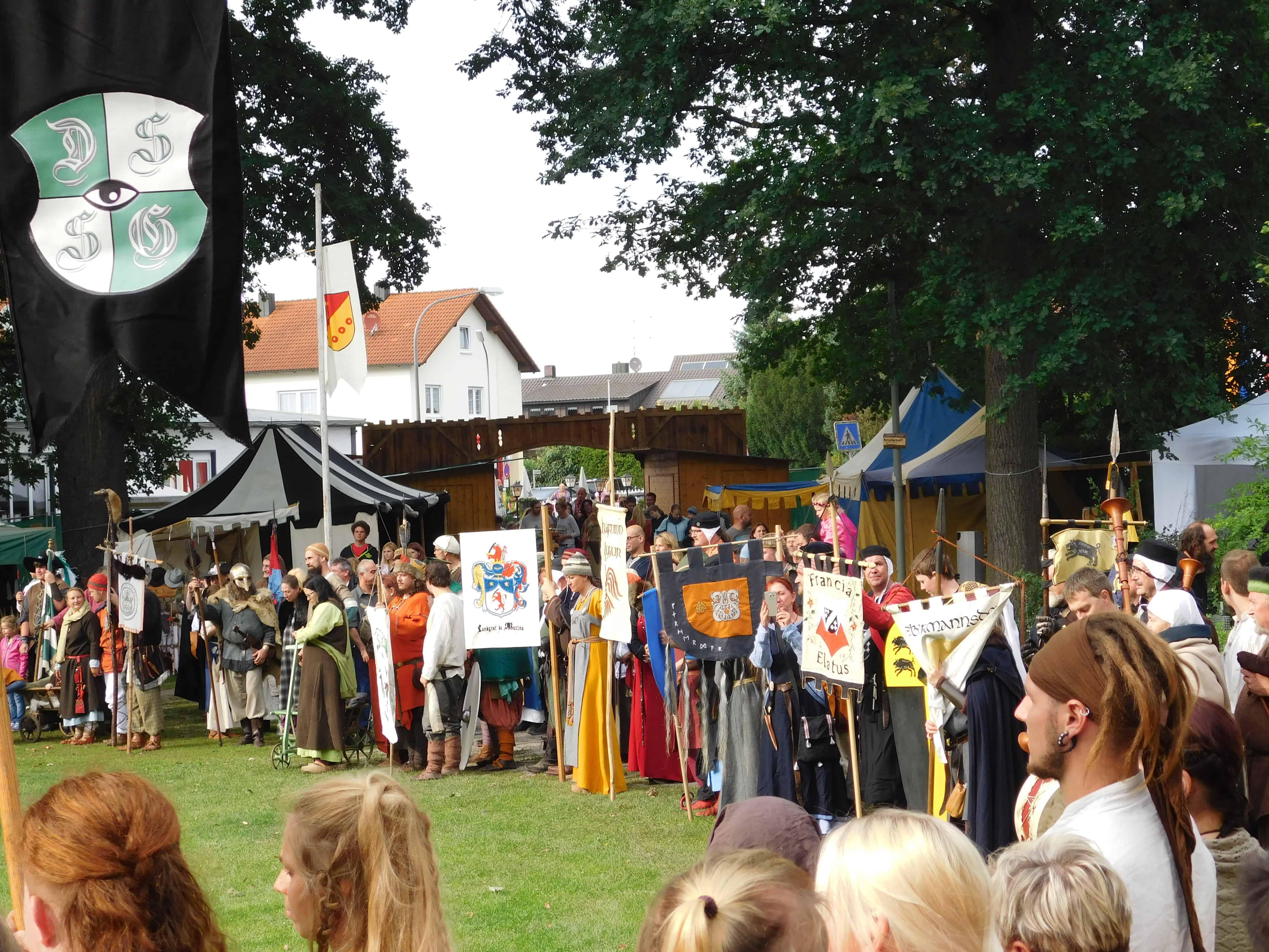 Mittelalterfest in Teublitz