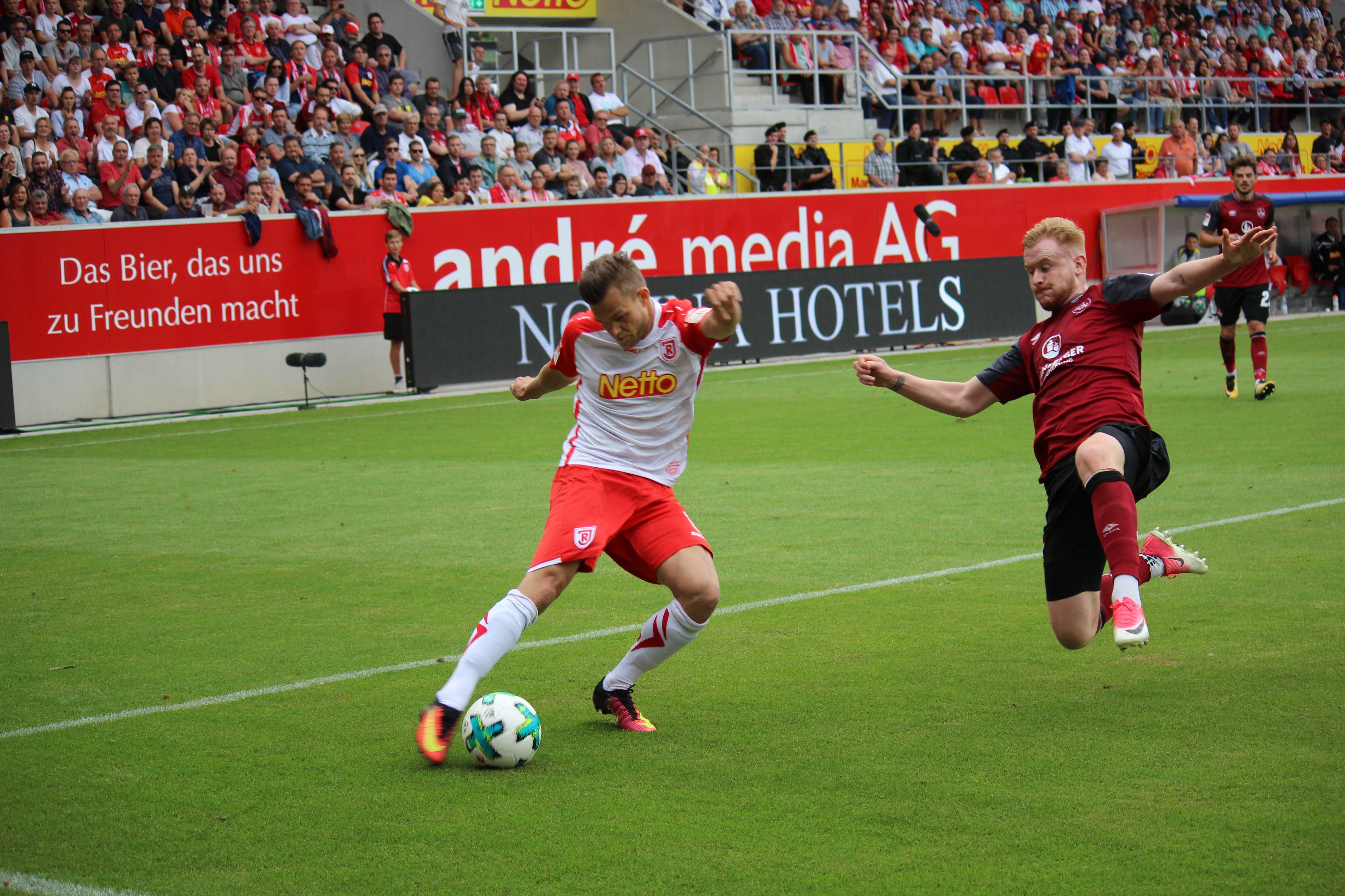 SSV Jahn Regensburg muss am Sonntag beim FC Ingolstadt ran