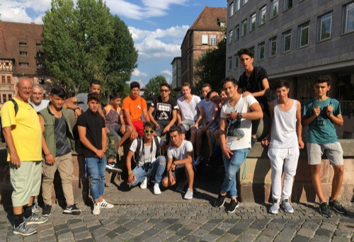 SV Sallern Regensburg auf Besuch in Nürnberg
