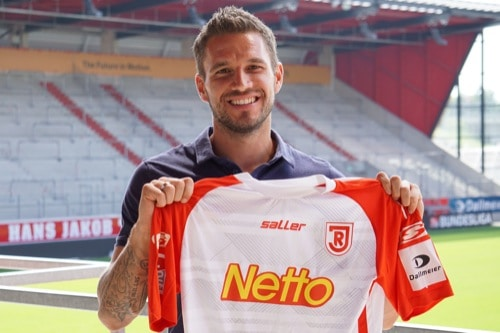 Jahn Regensburg verlängert mit Kapitän Marco Grüttner