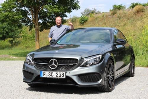 Blizz auf Testfahrt mit dem Mercedes-AMG C 43 4MATIC Coupé