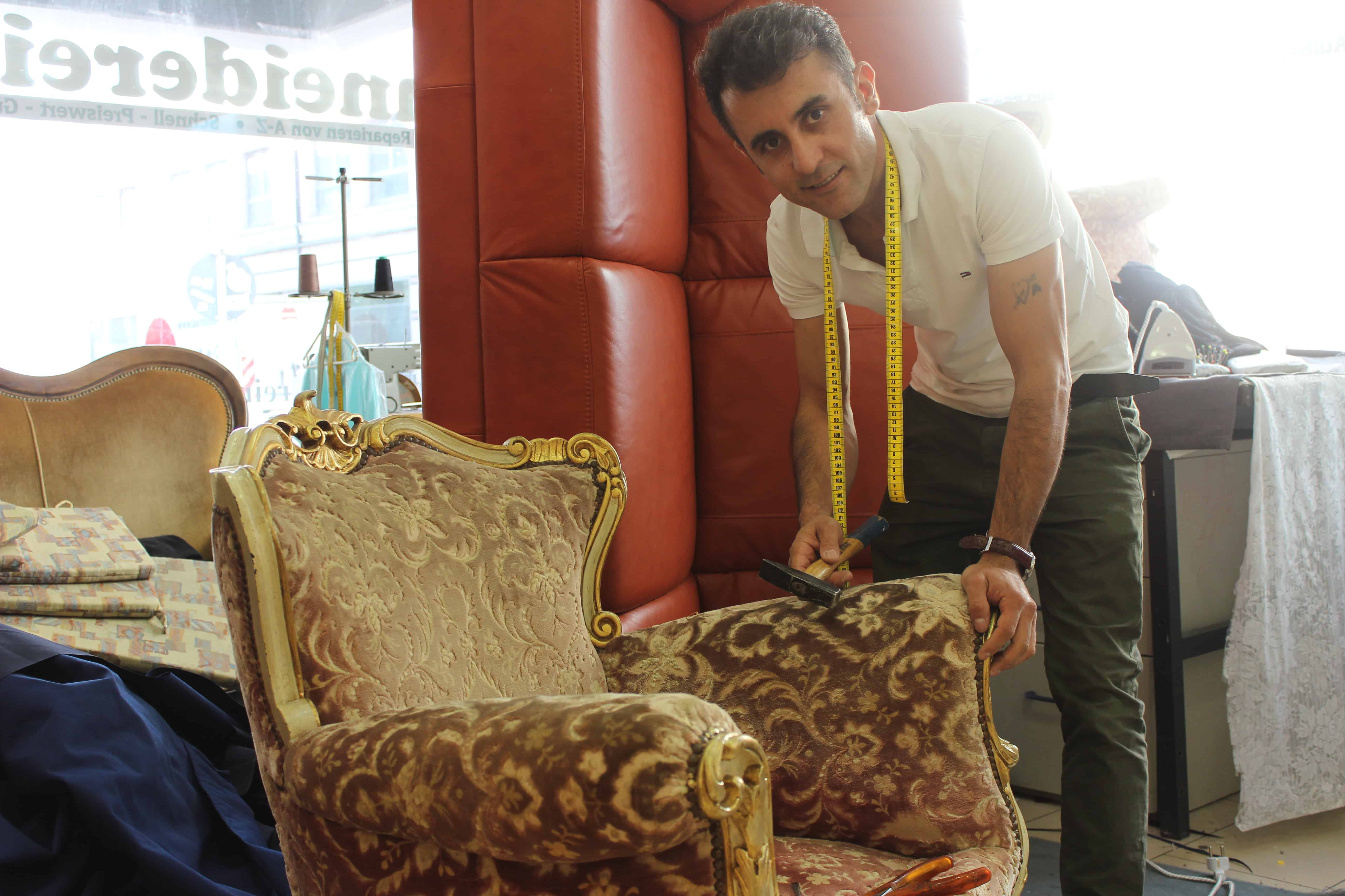 Teppichdoktor und Schneiderei & Polsterei Rashid: Kur für Stoffe und Teppiche