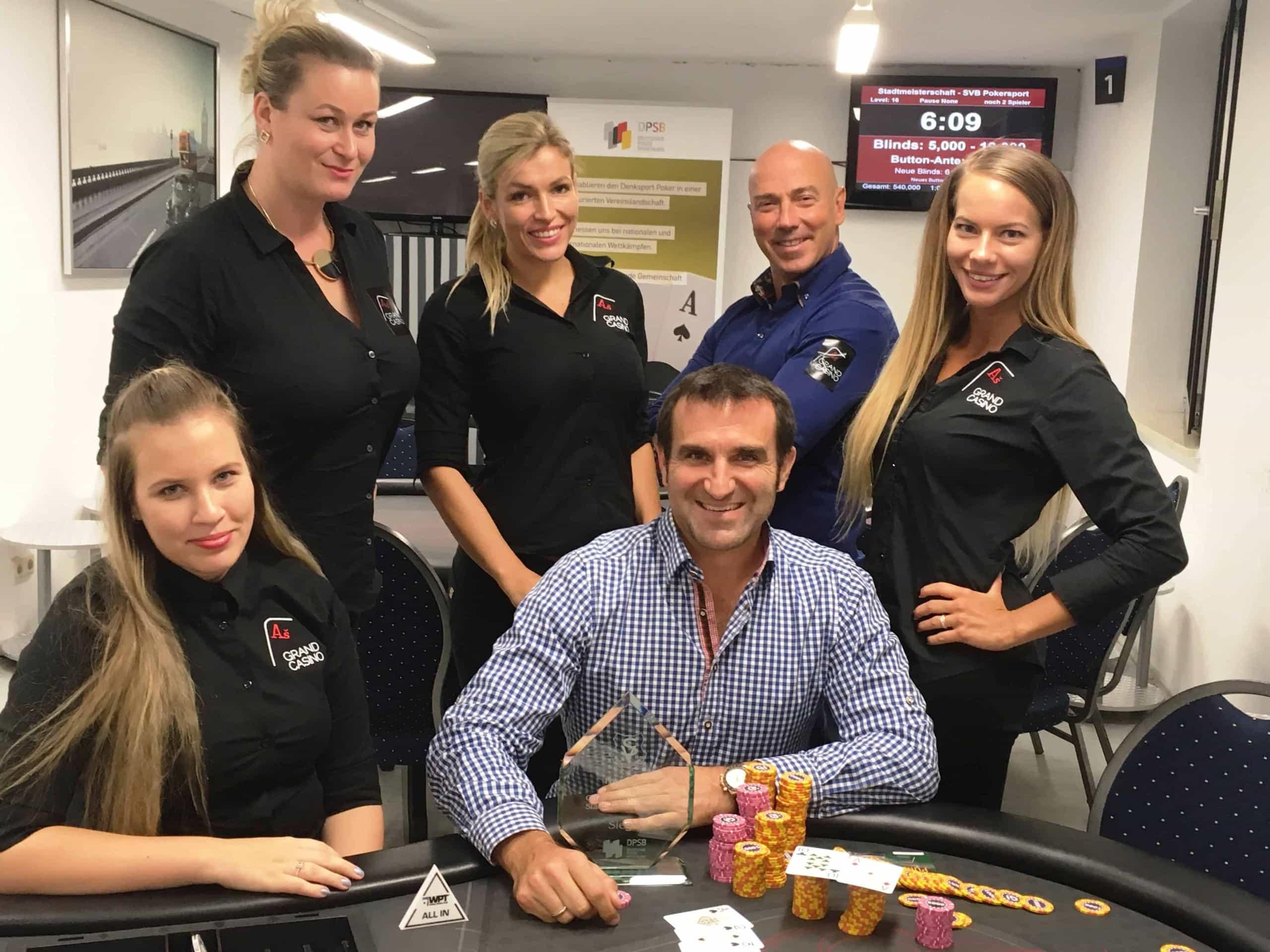 Favoritensieg: Stephan Kalhamer ist Stadtmeister im Pokern